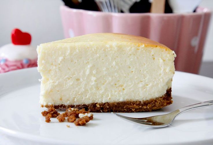 The Best Original New York Style Cheesecake - by niner bakes