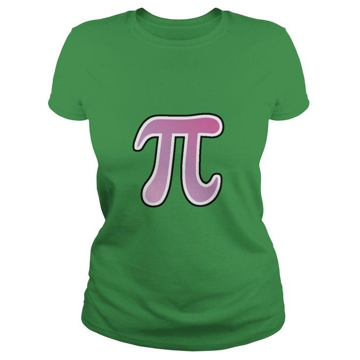 Purple gradient pi symbol stickers  #math  #tshirt #tee #sunfrog