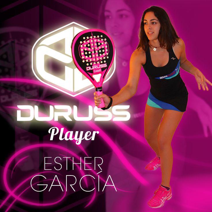 #EstherGarcia, jugadora de pádel, #Durussteam, #Durusspadel