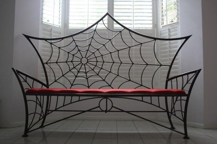 Sofá diseño tela de araña                                                                                                                                                                                 Más
