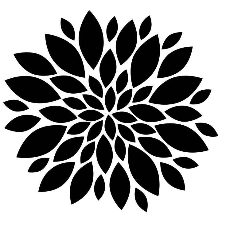 Flowers Black And White Clip Art Flowers Black Free Images At Vector Clip Art