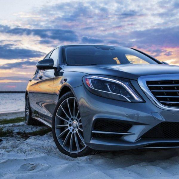 DRIVING BENZES — Mercedes-Benz S 550 (Instagram @BenBrinker)