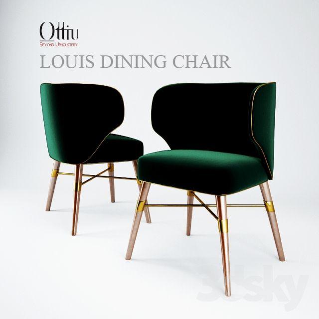 LOUIS DINING CHAIR _Ottiu _Beyond Upholstery