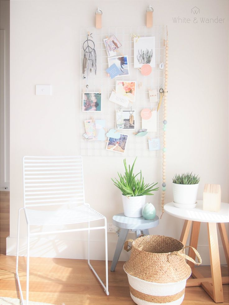 DIY moodboard with Scandinavian look.
