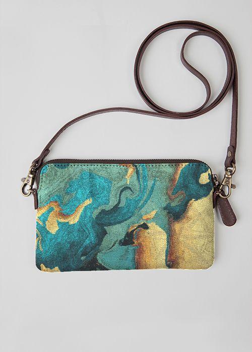 VIDA Leather Statement Clutch - Kraken by VIDA EQYAUJhra