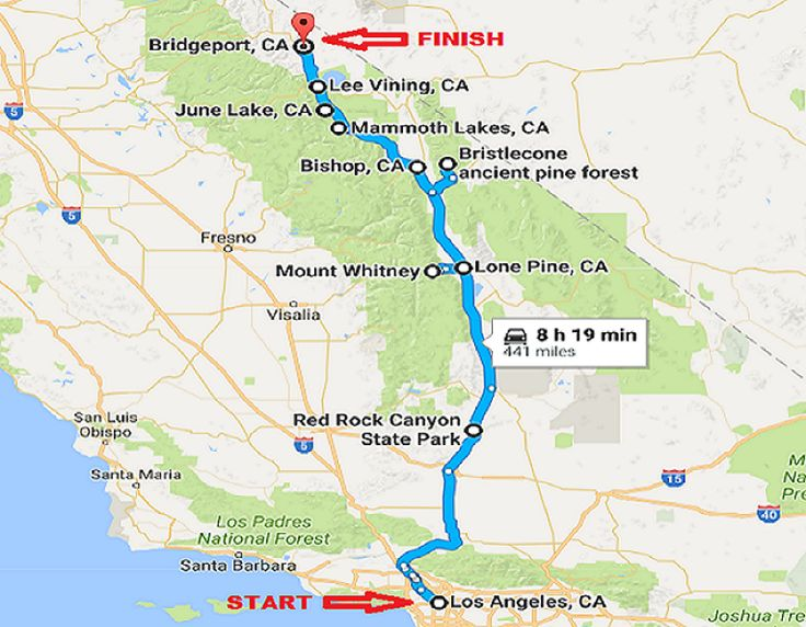 California S Most Scenic Road Trip Eastern Sierra Driving Itinerary