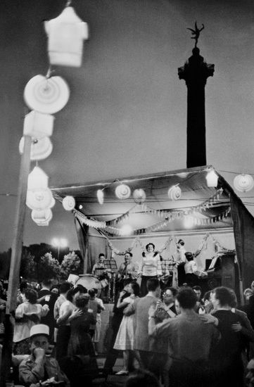 1952, Dia da Bastilha, Praça da Bastilha, Paris