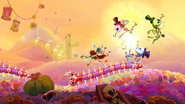 Rayman Legends - Mariachi Madness - read the review at http://second-generation.com/?p=80