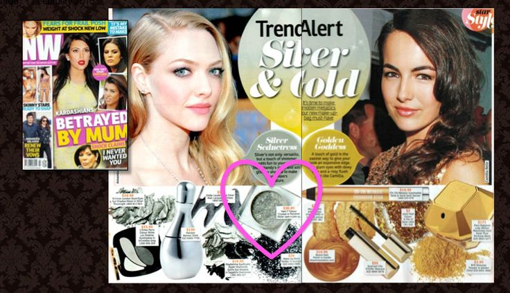 Trend alert! Check out this week's NW Magazine Australia for the hottest Silver and Gold stylings featuring our shimmering Colour Crystal in Polished Silver.