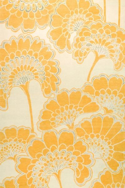 florence broadhurst rugs - japanese-floral saffron