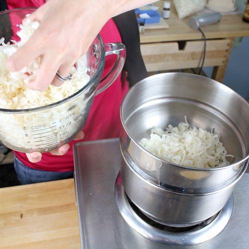 Green Tea Rebatch soap making recipe