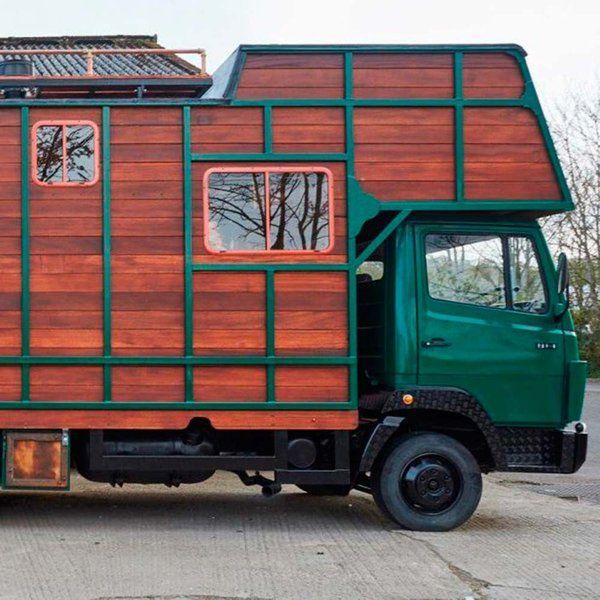 De remolque de caballos a cálido hogar  http://www.micasarevista.com/casas/casa-remolque-caballos
