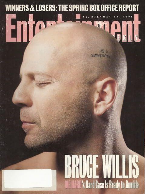 Bruce Willis Entertainment Weekly May 1995 Bruckheimer Bob Saget Michael Fuchs