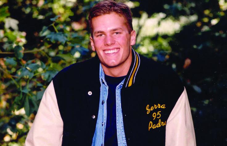 Tom Brady, before the Patriots - Junipero Serra High School, San Mateo, Calif. #Patriots