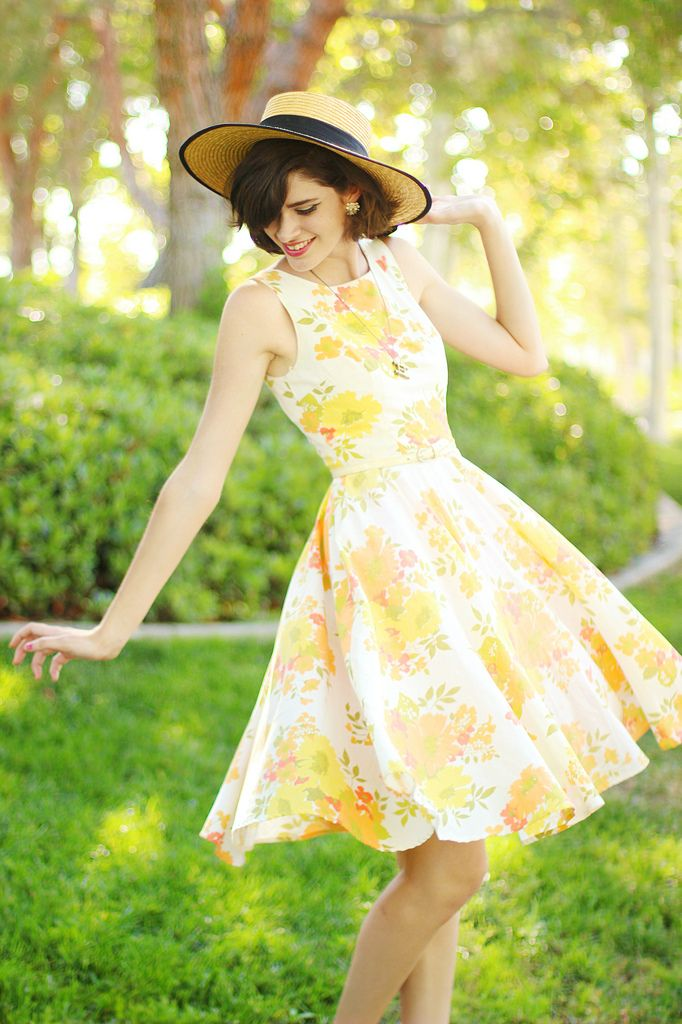 Oh... This is a lovely dress... It would be too long on me, but it is wicked cute... Maybe in a petite size.