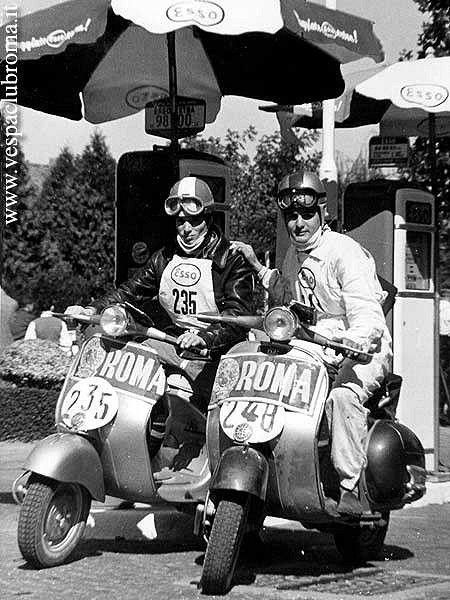 Haven't seen these vintage Vespa racing photos before, (most of which feature…