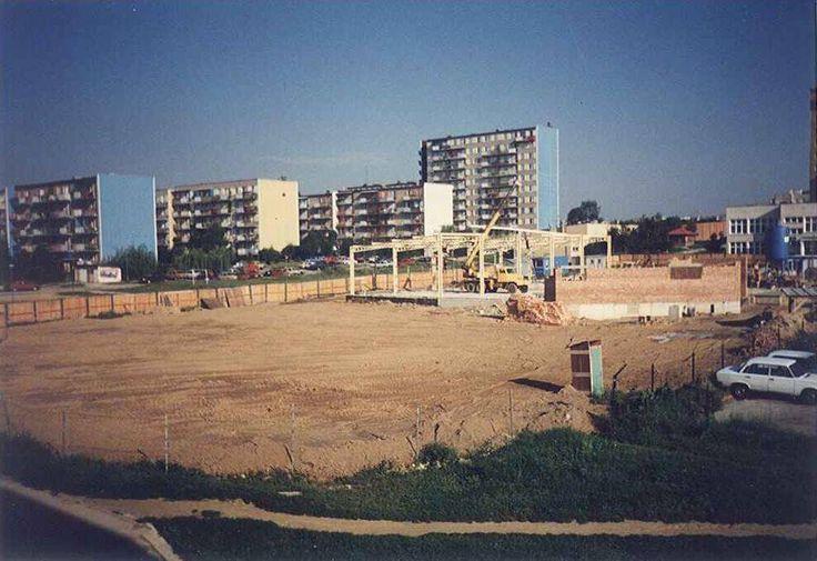 Ul. Tatarakowa budowa Aldona 1997 r. Źródło; Michał pranagal