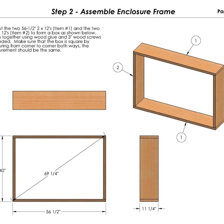 Outdoor TV Cabinet Plans