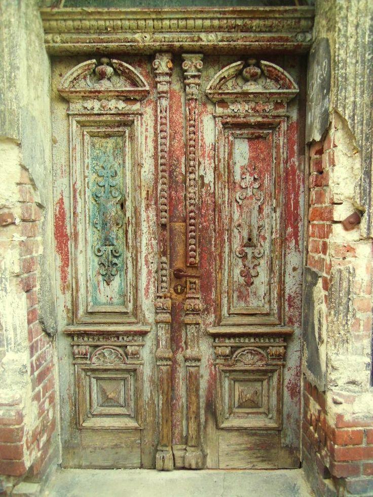 Old doors, Bydgoszcz Poland
