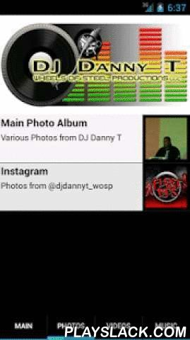 DJ Danny T  Android App - playslack.com , Professional DJ. Started DJ'ing in 1988, created my DJ company Wheels of Steel Productions. I provide mobile entertainment at weddings, parties, concerts and other events requiring music, sound and lighting.My love for music began at a very young age. I recall listening to my father's records when only five. My father gave me my first component system. I was 10 then. Dad probably did so because he was tired of me monopolizing his stereo all the…