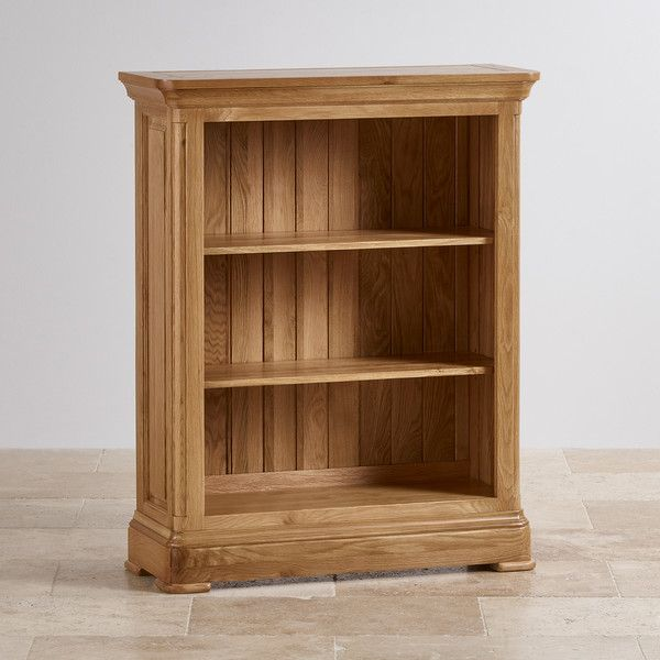 Natural Solid Oak Bookcases Small Bookcase Canterbury Range