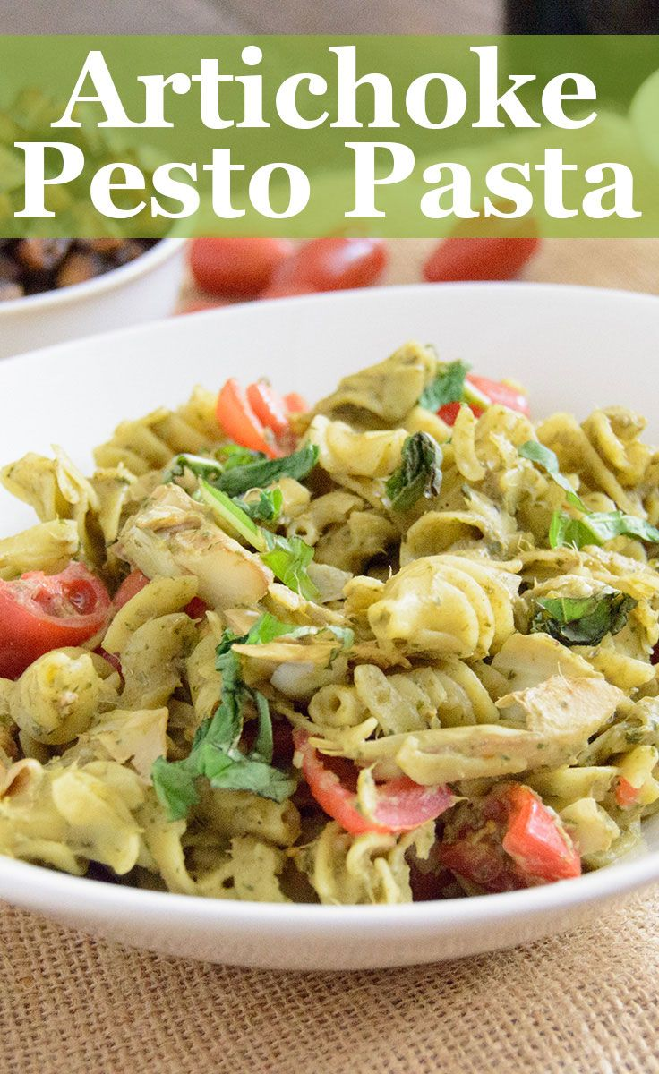 Healthy Artichoke Pesto, This pesto is dairy free, vegan, gluten free, low fat and full of flavor. Eas