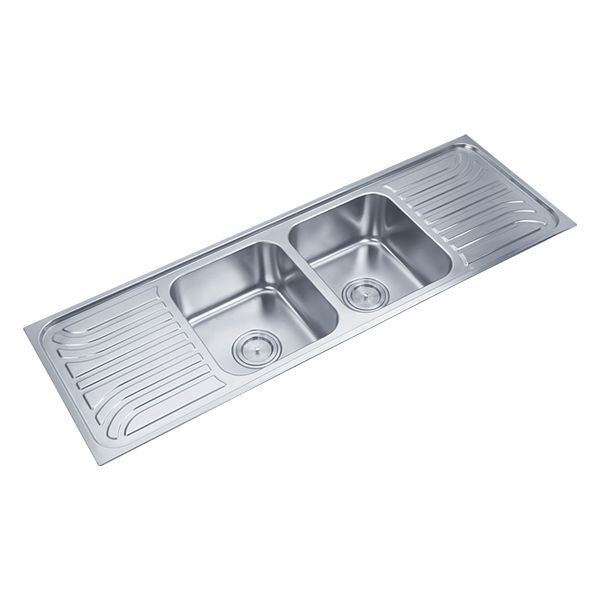 Buy Double Sink 318A in Sinks through online at NirmanKart.com