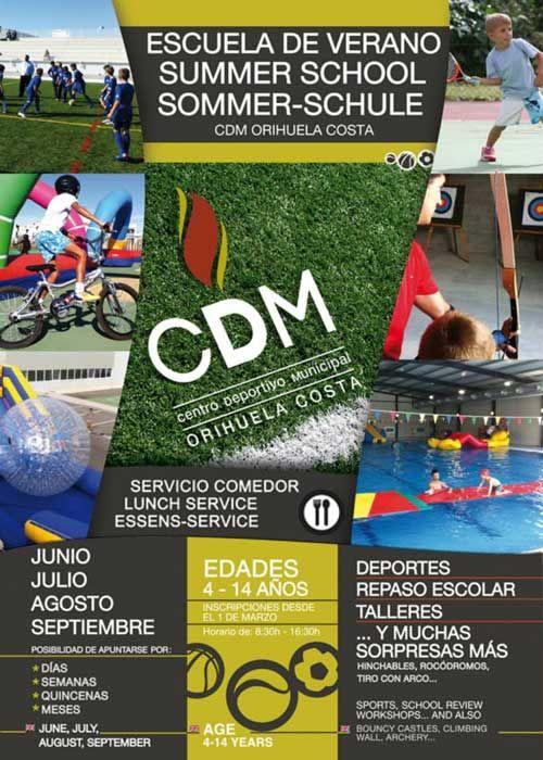 Летняя школа для детей в CDM Orihuela CostaStep to Spain