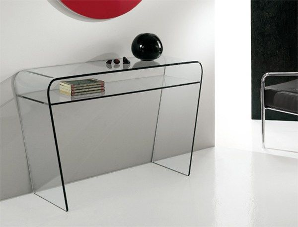 Design wall mounted kitchen dining crystal console table SAPHIRIA by RIFLESSI   design RIFLESSI