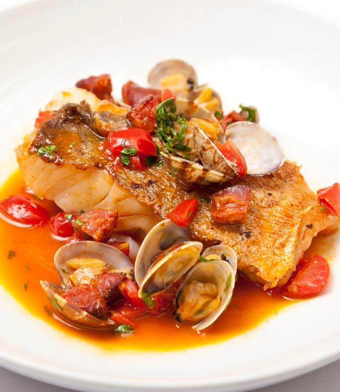 Quick, simple and impressive, Anna Hansen's cod with clams recipe proves that dishing up restaurant-quality food at home can be a doddle - just concentrate on sourcing the best quality cod and clams possible. Anna Hansen recommends serving this seafood recipe with some wilted spinach and potatoes.