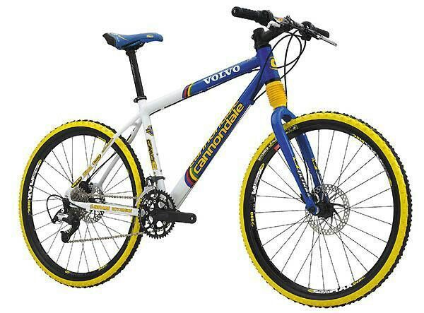 f893667d699 Cannondale F5000 SL (2000) Volvo-Cannondale Team Replica Mountain bike... |  Mountain Bike | Ciclismo, Montañas y Velos