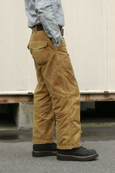 filson single or double tin pants