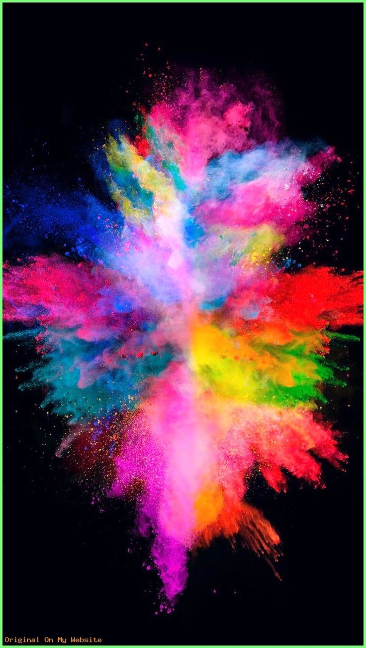 Iphone Wallpapers Tumblr Colorful explosion wallpaper