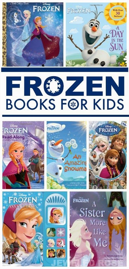 Keep the kids captivated & engaged in reading with these Frozen books inspired by the movie; if your child loves the movie they will love these books!
