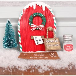 New! Elf Door Set