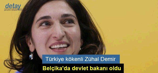 Türkiye kökenli Zühal Demir, Belçika'da devlet bakanı oldu