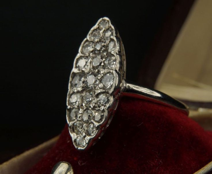 Take 15% off this diamond navette ring at CJAntiquesLtd.com and anything else until December 1st with discount code BLACKMAGIC. Don't leave any Christmas shopping too late - our last Christmas posting dates are now on the site!