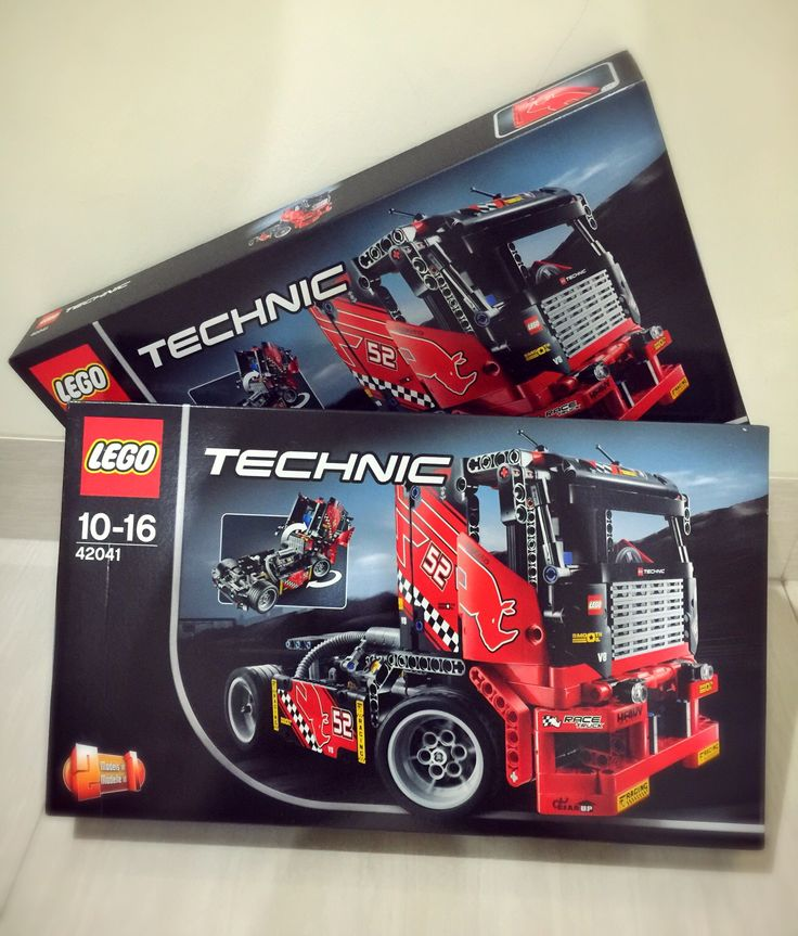 2 Lego's Red Truck.. Awesome