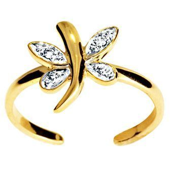 Buy our Australian made Ladies Dragonfly Toe Ring - BEE-25003 online. Explore our range of custom made chain jewellery, rings, pendants, earrings and charms.