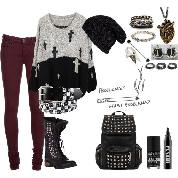 238 Best Cute Outfits Images On Pinterest Punk Rock Style Fashion And Emo