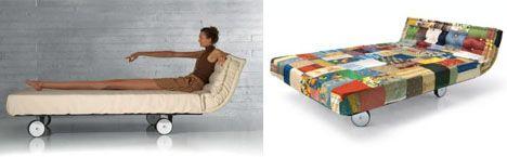 modern mattress bed::roll up, vertical storage murphy bed? BASEMENT