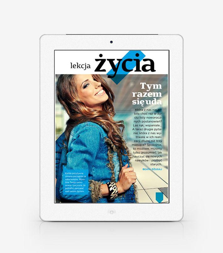 Women's Health Mag PL - digital iPad layout