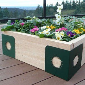 Quick Corners for DIY Raised Bed Garden - Natural Standard . $89.99