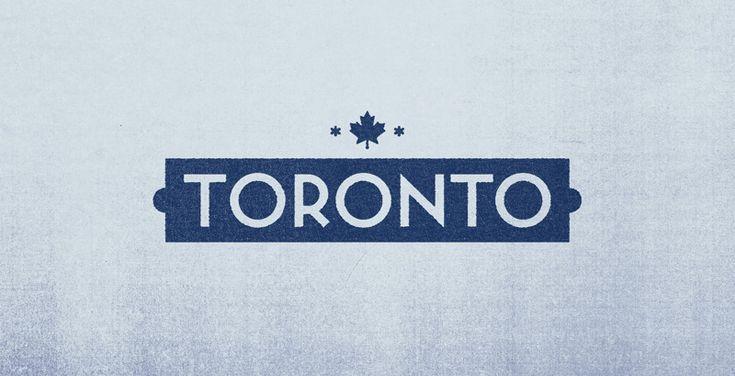 Minimalist City Logo: #Toronto