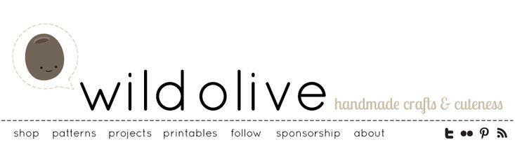 Wild Olive: imprimir para / / organizador de Proyectos (con bic marca-que la codificación de colores!)