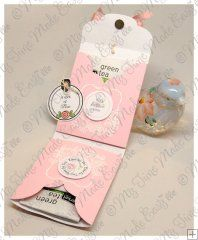 Time for Tea Bag..these would be great to give to your guests as they leave your tea party.