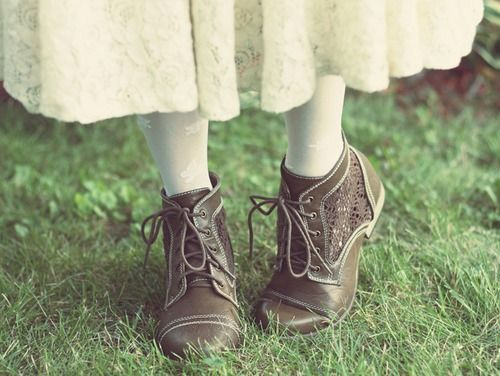 Dolls, Nature, and Life -- Mori Girl shoes