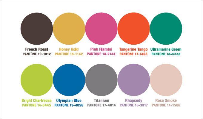 Цветовые тенденции сезона по версии Pantone |Осень-зима 2014/2015 на Fashion-fashion.ru