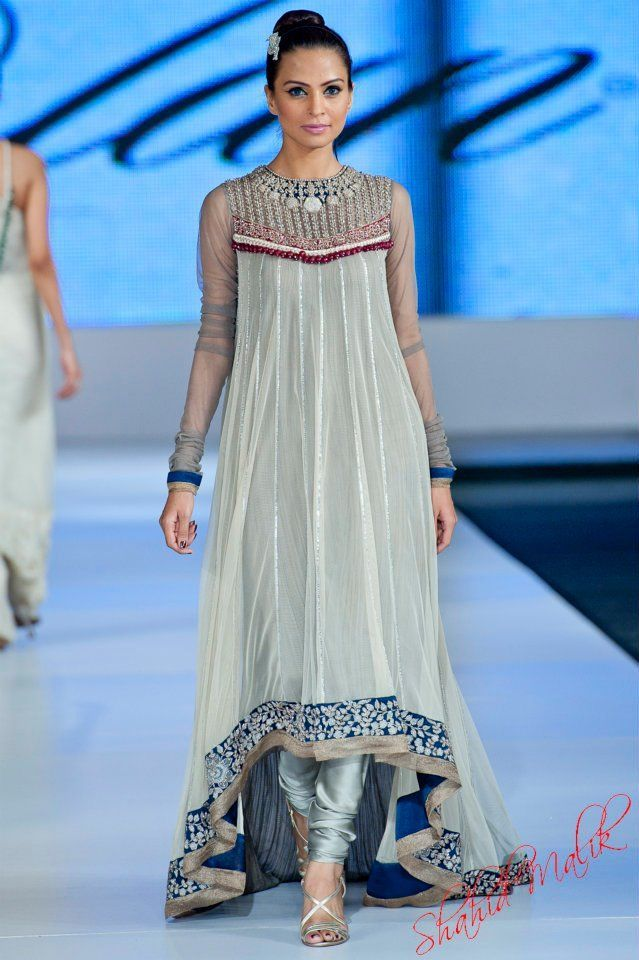 Asian Airline Frocks Designs Collection 2015 for Pakistani Women   StylesGap.com