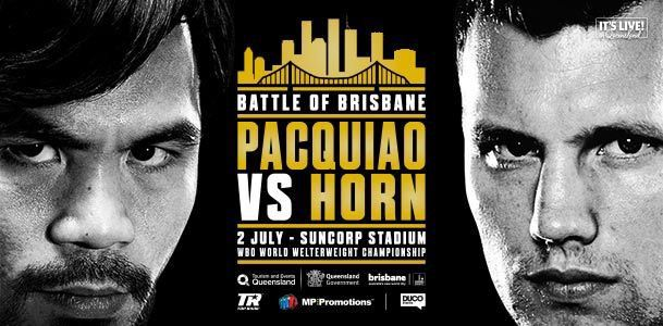 Pacquiao vs Horn, more: Boxing fight times and TV schedule for June 30-July 1 - Bad Left Hookclockmenumore-arrow : Manny Pacquiao is back, Robert Easter Jr has a title defense, and more.